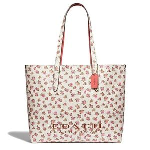 New Authentic Highline Coach Floral Tote